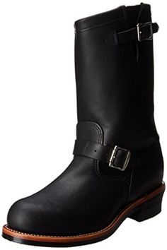 """Chippewa Men's 11"""" Steel Toe 27899 Engineer Boot,Black,6.5 D US - Brought to you by Avarsha.com"""