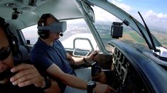 Texan Pilots Use Oculus Go For In-Flight Navigational Guidance - VRScout Thrust Vectoring, Co Founder, Texans, Pilots, Vr, John Paul, Technology, Virtual Reality, Aircraft