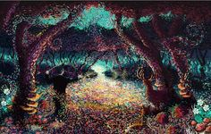 Incredible impressionist paintings done in Photoshop