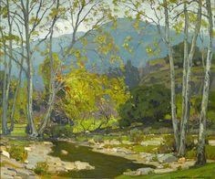 """WILLIAM WENDTQuiet BrookOil on Canvas30"""" x 36"""""""