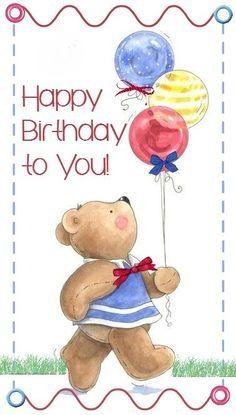 Birthday Celebration, Birthday Wishes, Birthday Cards, Happy Birthday, Smurfs, Photo Editing, Birthdays, Elephant, Teddy Bear