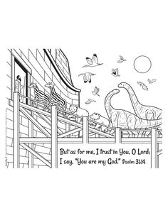 FREE: 78 coloring pages with poems from Answers in Genesis