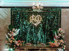 """LED neon  """"Heart A&A"""" custom sign Custom Neon Signs, Wreaths, Led, Heart, Decor, Decoration, Door Wreaths, Deco Mesh Wreaths, Decorating"""