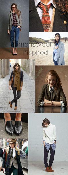 Menswear Inspiration - Poor Little It Girl