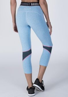 Bamboo Hipster Cropped Fitness Pant