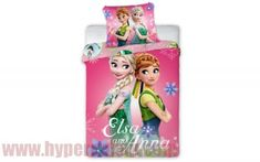 Detské bavlnené obliečky Disney Frozen Pink 140x200 Disney Frozen, Thing 1, Oeko Tex 100, Olaf, Anna, Christmas Ornaments, Holiday Decor, The Aristocats, Single Bedding Sets