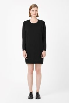 Merino jumper dress