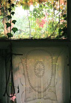 Bohemian Inspiration handkerchief window