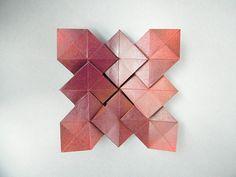 Origami Tessellation - Hydrangea variation