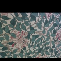 Honeysuckle wallpaper by Morris and Co.