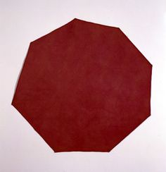 'Red Canvas' by Richard Tuttle, 1967, Corcoran Gallery of Art - Late modernism - Wikipedia, the free encyclopedia