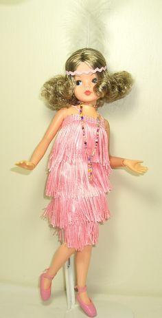 """Bubbles"" Flapper Sindy Doll - Photo: Orange Cat Creations   OOAK Dolls"