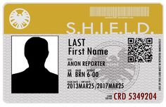 Agent's of S.H.I.E.L.D. ID card by sanchez2007he psd file for adobe photosohop is for download. it has separates layers for each part