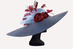 Alquiler Pamela NAVY azul con plumas | Cris Camón | 24FAB | 2890