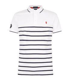 172914b4 POLO RALPH LAUREN Wimbledon Striped Polo Shirt. #poloralphlauren #cloth #  Ralph Lauren Mens