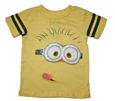 Despicable Me Boys Short Sleeve Shirt