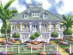 Key west  Cottage house plans and Key west house on PinterestHome Plans HOMEPW     Square Feet  Bedroom Bathroom Tidewater Home
