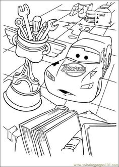 disney cars printable coloring pages pages disney cars09 cartoons cars - Disney Cars Activities