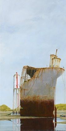 'Wreck Burnham on Sea' Cyril Croucher