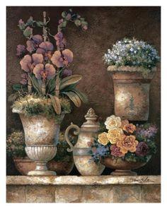 Flores victorianas I: detalle Arte por James Lee en AllPosters.es