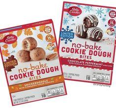 No Bake Cookie Dough, Snicker Doodle Cookies, Betty Crocker, Peppermint, Bread, Chocolate, Baking, Breakfast, Schokolade