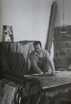 Piero Fornasetti atelier. www.albertalagrup.com