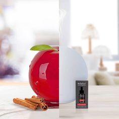 Crea un'atmosfera rilassante con il diffusore Hydro Sfera di Millefiori e la fragranza Mela & Cannella: dolce, speziata e irresistibile.