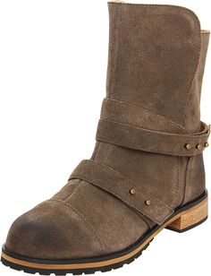 Kelsi Dagger Brooklyn Women's Cyan Suede Boot -- Be sure to check out this awesome product.