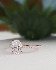 Dream Engagement Rings, Vintage Engagement Rings, Solitaire Engagement, Simple Engagement Rings Oval, Popular Engagement Rings, Engagement Ring Shapes, Engagement Jewelry, Wedding Rings Vintage, Vintage Rings