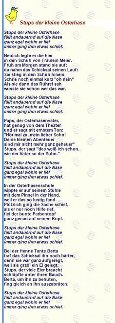 37 best Lieder und Gedichte images on Pinterest | Kindergarten ...