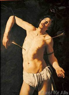 Michelangelo Merisi Caravaggio (?) - The Martyrdom of Saint Sebastian