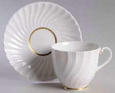Mayfair Footed Cup & Saucer Set by Royal Worcester | Replacements, Ltd.