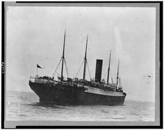 The Carpathia with Titanic lifeboats. (Library of Congress Prints and Photographs Division Washington, D.C.)