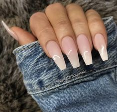 On average, the finger nails grow from 3 to millimeters per month. If it is difficult to change their growth rate, however, it is possible to cheat on their appearance and length through false nails. Are you one of those women… Continue Reading → Diy Acrylic Nails, Acrylic Nail Designs, Pointy Acrylic Nails, Gorgeous Nails, Pretty Nails, Milky Nails, Nagel Gel, Toe Nails, Nail Nail