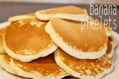 Banana Pikelets: Can't beat them! Great #recipe