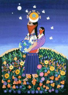 LA VOZ DEL ANAHUAC 2012: México_Chiapas: la pintura de Beatriz Aurora