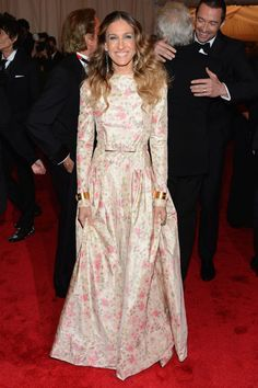 Sarah Jessica Parker - Met Ball 2012   why...