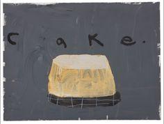 Creme on Gray - Cake - By Gary Komarin