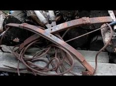 Scavenged Steel: Knives in Unlikely Places - YouTube