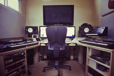 Wing Commander in studio.