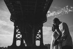 Dumbo, Brooklyn Engagement photos captured by Brooklyn Wedding Photographer, J&R Photography     www.jrphotony.com