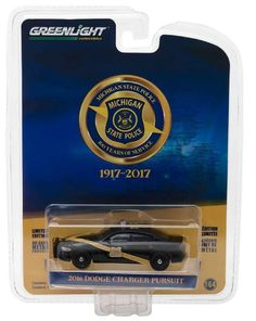 1:64 Greenlight Anniversary Collection Series 6 - 2016 Dodge Charger Pursuit #Greenlight #Dodge