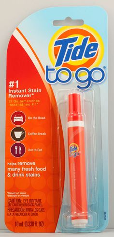 Tide To Go Pen Instant Stain Remover...IT WORKS!...not really a Beauty Product but contributes to looking good.