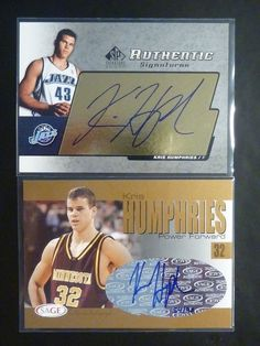 Kris #Humphries #Autograph #Lot #Auto #Rookie #Card #RC /90 Sage SP Signature Edition http://r.ebay.com/P0PSfC @eBay #kardashian #kimk #mtv