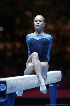 Some poses at the end of the beam are just classic.    Ksenia Afanasyeva