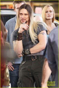 Jim Carrey con pelo largo♥   para la peli