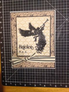 The Right Hugh: September 2014 - Sing Glory with Yuletide paper.