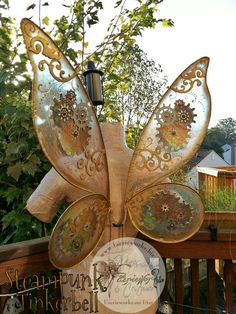 Steampunk Tink Tinkerbell Wings for Bridal Wedding Cosplay LARP Halloween Costume Fair Festival Faery Wings Fairy Steampunk Cosplay, Viktorianischer Steampunk, Steampunk Outfits, Steampunk Halloween, Steampunk Wedding, Steampunk Clothing, Steampunk Fashion, Fashion Goth, Steampunk Festival