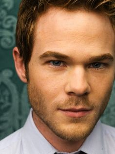 Shawn Ashmore. His eyes. He got really handsome since Cadet Kelly.