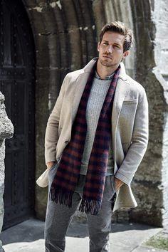 Andrew Cooper, Fashion Photography Poses, Scarf, Men Formal, Mens Clothing Styles, Men's Clothing, Sharp Dressed Man, Modern Man, Good Looking Men